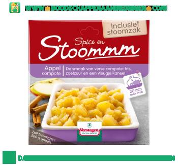Verstegen Stoommm appelcompote aanbieding