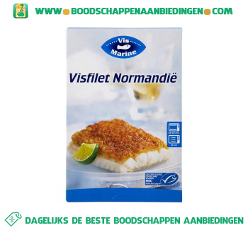 Vismarine Visfilet Normandië aanbieding