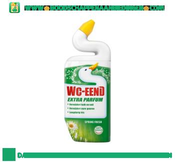 WC-Eend Toiletreiniger extra parfum spring fresh aanbieding