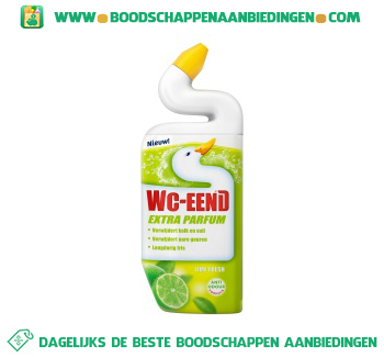 WC-Eend Toiletreininger lime fresh aanbieding