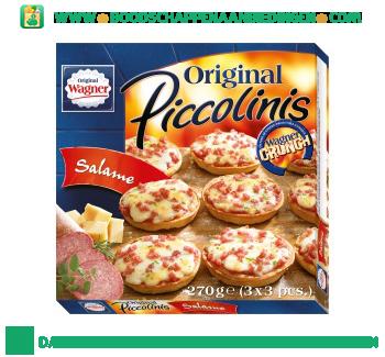 Wagner Original Piccolinis salame aanbieding