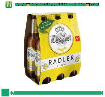 Warsteiner Radler pak 6 flesjes aanbieding