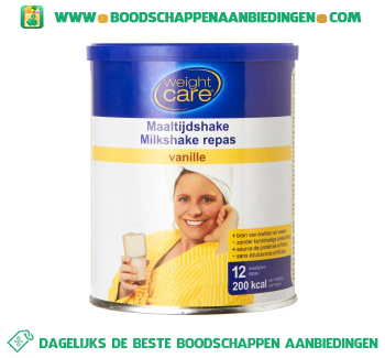 Weight Care Maaltijdshake vanille aanbieding