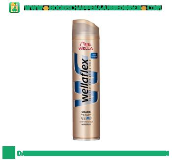 Wella Wellaflex volume haarspray extra strong aanbieding