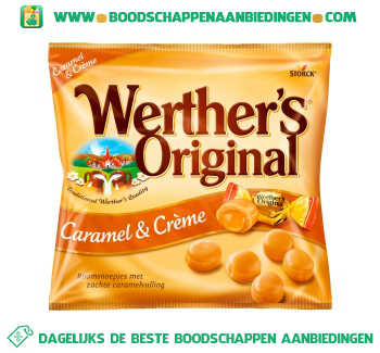 Werthers Original caramel & creme aanbieding