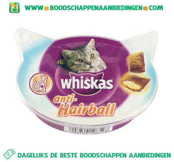 Whiskas Anti-hairball aanbieding