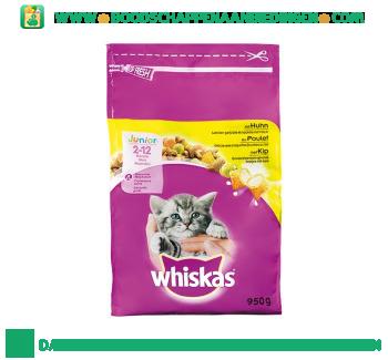 Whiskas Junior met kip aanbieding