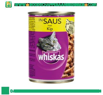 Whiskas Kip in saus aanbieding