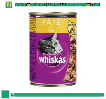 Whiskas Paté met kip aanbieding