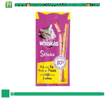 Whiskas Sticks kip aanbieding