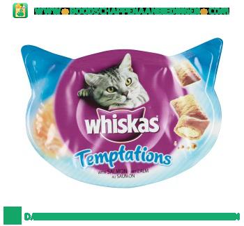 Whiskas Temptations zalm aanbieding