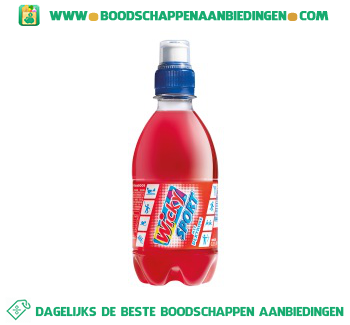 Wicky Sportdrink red fruit aanbieding