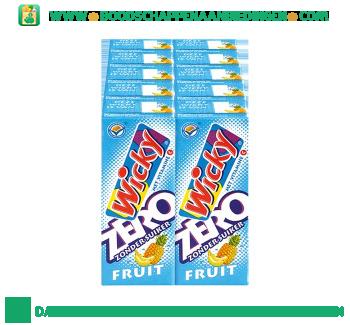 Wicky Zero fruit 10-pak aanbieding