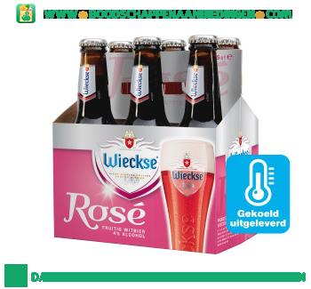 Wieckse Rosé pak 6 flesjes aanbieding
