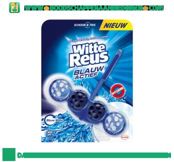 Witte Reus Toiletreiniger blauw actief aanbieding