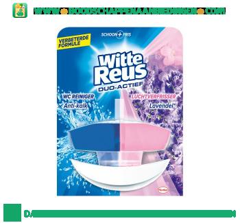 Witte Reus Toiletreiniger duo actief lavendel aanbieding