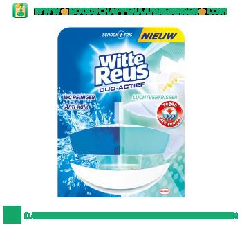 Witte Reus Toiletreiniger duo actief tegen nare geuren aanbieding