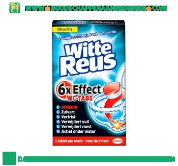 Witte Reus WC tabs aanbieding