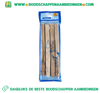 Woefhap Pressed sticks 10 inch aanbieding