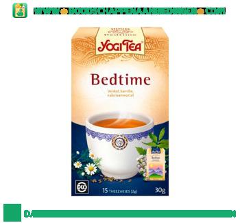 Yogi Tea Bedtime thee aanbieding