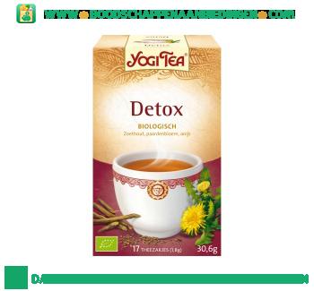 Yogi Tea De-tox aanbieding