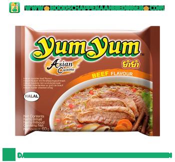 Yum Yum Bamisoep rundvlees aanbieding