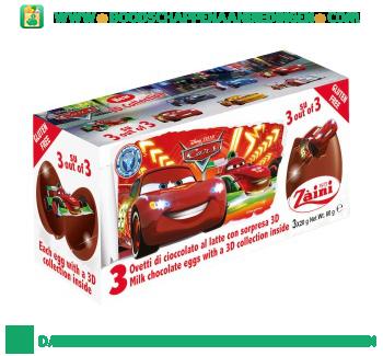 Zaini Chocolade verrassingsei cars aanbieding