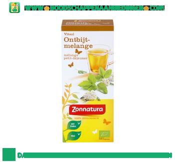 Zonnatura Bio ontbijtmelange thee aanbieding