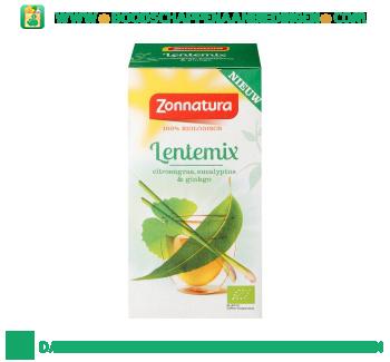 Zonnatura Biologische lentemix thee aanbieding