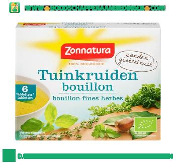 Zonnatura Bouillonblokjes zonder gist aanbieding