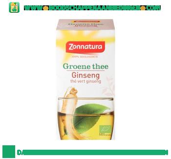 Zonnatura Groene thee & ginseng aanbieding
