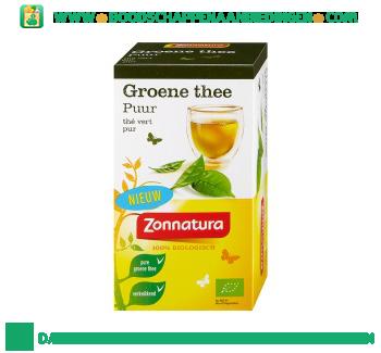 Zonnatura Groene thee puur 1-kops aanbieding