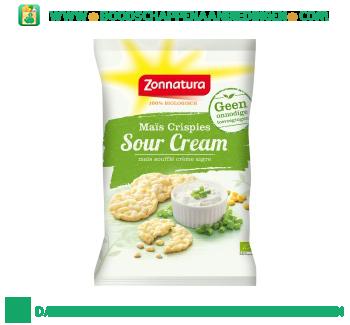 Zonnatura Mini maiswafels sour cream aanbieding