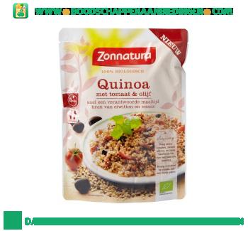 Zonnatura Quinoa tomaat olijf aanbieding