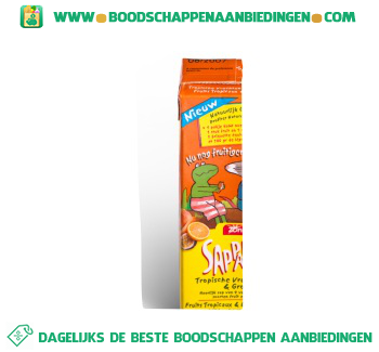 Zonnatura Sappa tropisch oranje aanbieding