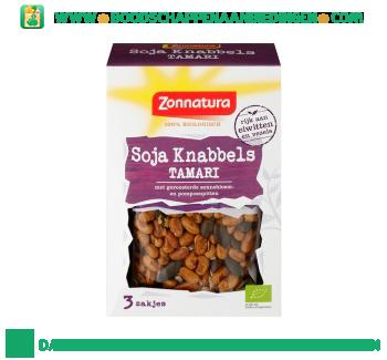 Zonnatura Soja knabbels tamari mix aanbieding