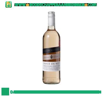 Zuid-Afrika Danie de Wet chardonnay/pinot noir aanbieding