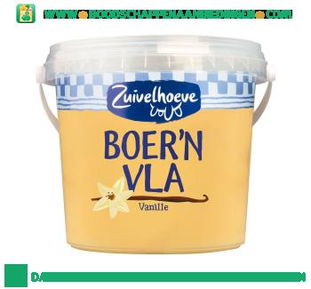 Zuivelhoeve Boer'n vla vanille aanbieding