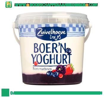Zuivelhoeve Boer`n yoghurt bosvruchten aanbieding