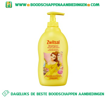 Zwitsal Baby girls anti-klit shampoo aanbieding