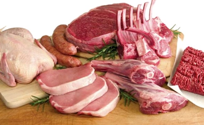 vlees en vis aanbiedingen
